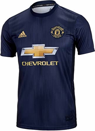453906fb2f3 Amazon.com  adidas Kid s Manchester United 3rd Jersey 2018 2019 ...