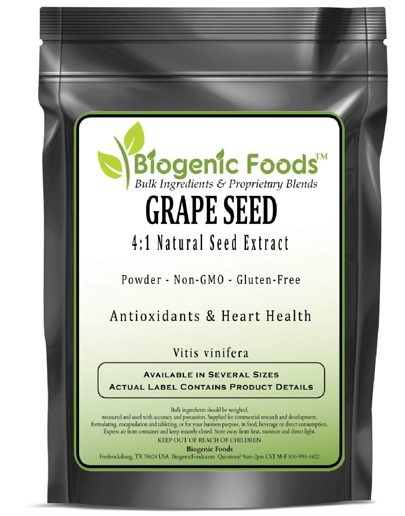 Grape Seed - 4:1 Natural Seed Powder Extract (VIT is vinifera), 2 kg