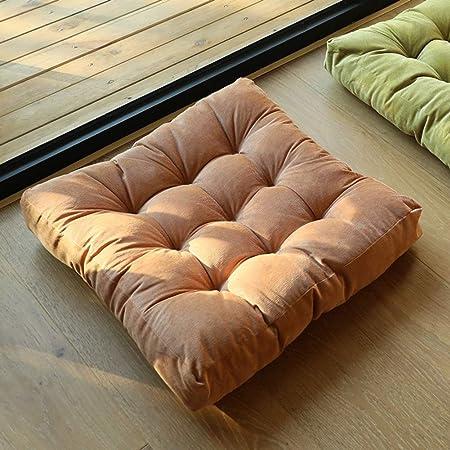 Cuscini Seduta A Terra.Wewe Addensare Quadrata Cuscino Di Seduta Peluche Soft Futon Opaco