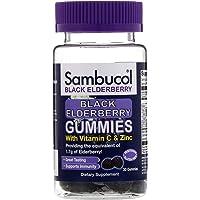 Sambucol Black Elderberry Dietary Supplement Gummies - 30 ct, Pack of 2