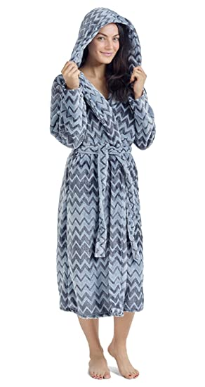 c226ae5a7a CityComfort Luxury Ladies Dressing Gown Soft Plush Bath Robe for Women  Housecoat Loungewear Bathrobe  Amazon.co.uk  Clothing