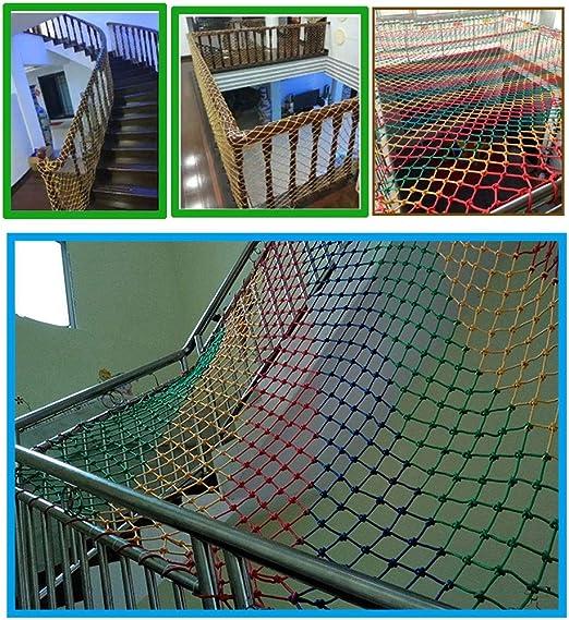 Red de seguridad Protección for mascotas de los niños Red de protección Escalera Red exterior Balcón exterior Malla anti-rotura Jardín de infantes Malla decorativa Malla neta Malla tejida a mano Malla: Amazon.es: