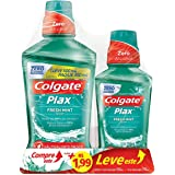Enxaguante Bucal Colgate Plax Fresh Mint 500ml - Colgate Plax IceFusion 250ml