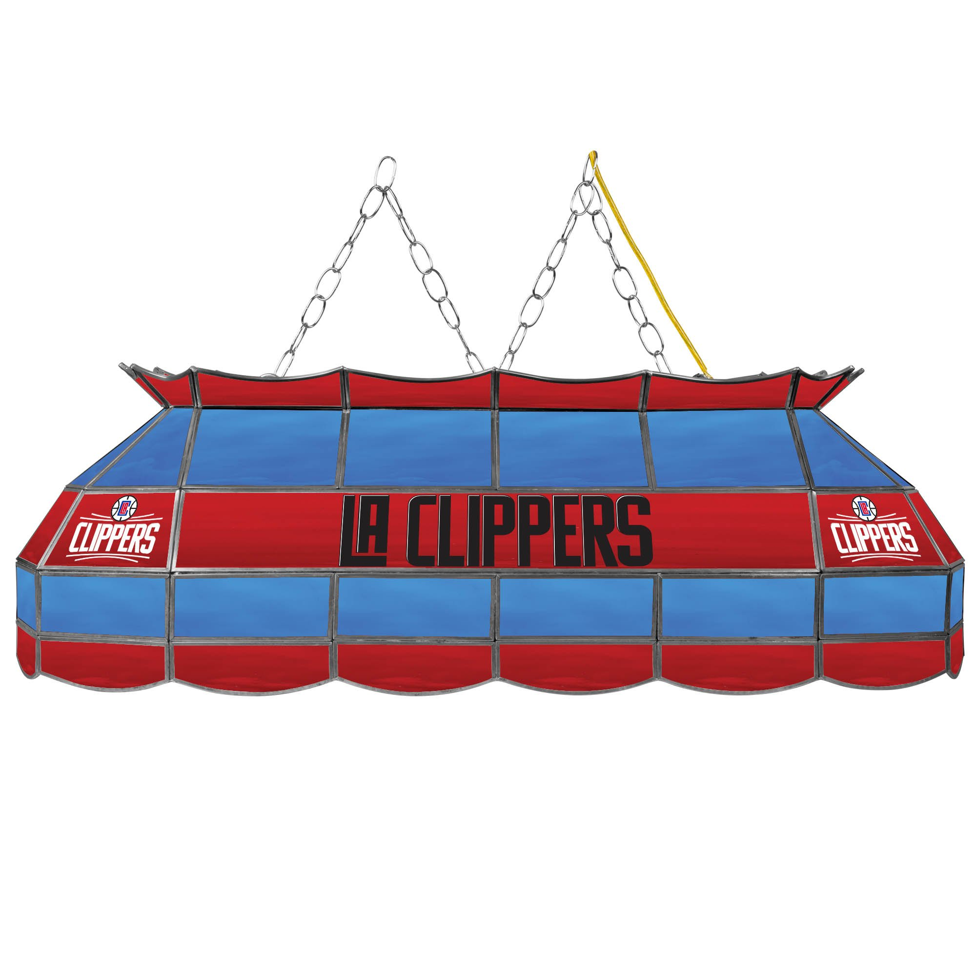 NBA Los Angeles Clippers Tiffany Gameroom Lamp, 40''