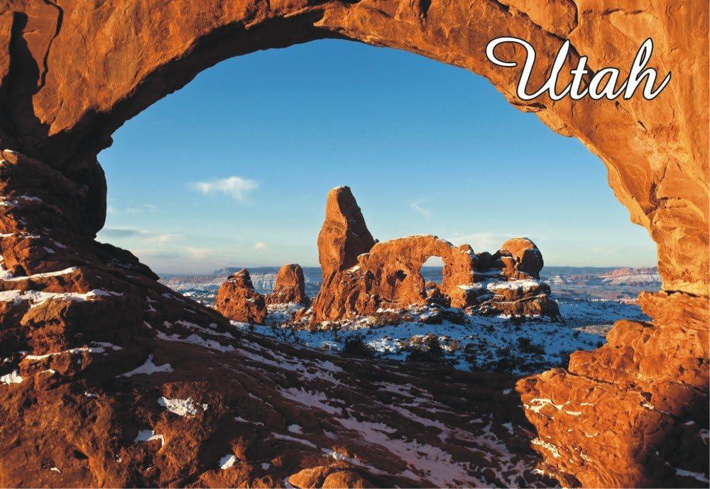 Arches National Park fridge magnet Utah travel souvenir
