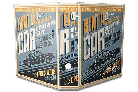 Archivador A4 Carpeta 2 anillas 60mm impreso Alquiler de coches