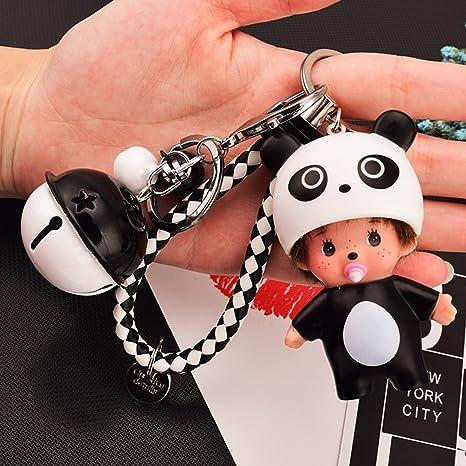 Amazon.com: Llavero con diseño de muñeca con llavero, color ...