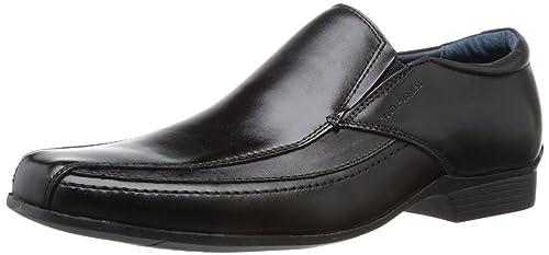 Geox U LONDRA J - Zapatillas de casa de cuero hombre, color negro, talla 40
