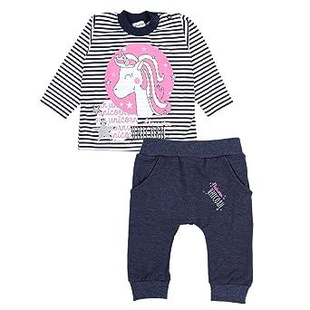 TupTam Baby Mädchen Bekleidungsset Einhorn Aufdruck