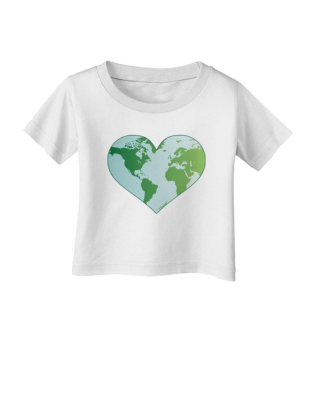 TooLoud World Globe Heart Infant T-Shirt