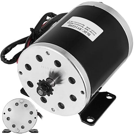 Mophorn Mini Motor Eléctrico de Alta Velocidad de Baja ...