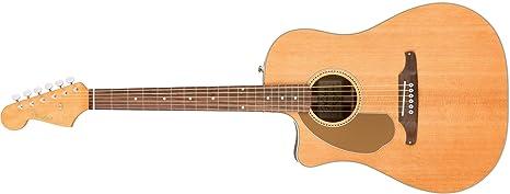 Fender 0968605021 Sonoran Sce izquierda Natural Guitarra eléctrica con a juego con cabezal
