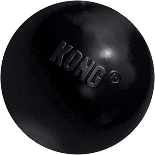 KONG - Extreme Ball - Juguete de caucho para mandíbulas potentes, negro - Para Perros Pequeños: Amazon.es: Productos para mascotas