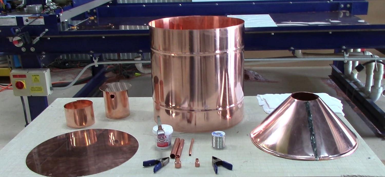20 gallon copper still parts kit