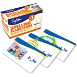 1st Grade Spelling Flashcards: 240 Flashcards for Building Better Spelling Skills Based on Sylvan's Proven Techniques for Suc