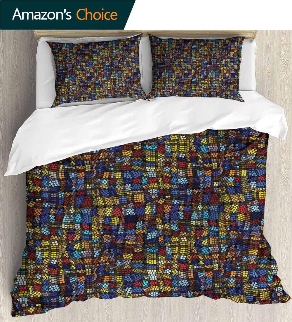 Amazon Com Vroselv Home European Style Print Bed Set Box Stitched
