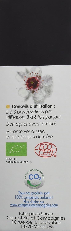 Comptoirs Et Compagnies Iaa10 Spray Gorge Bio Miel De Manuka