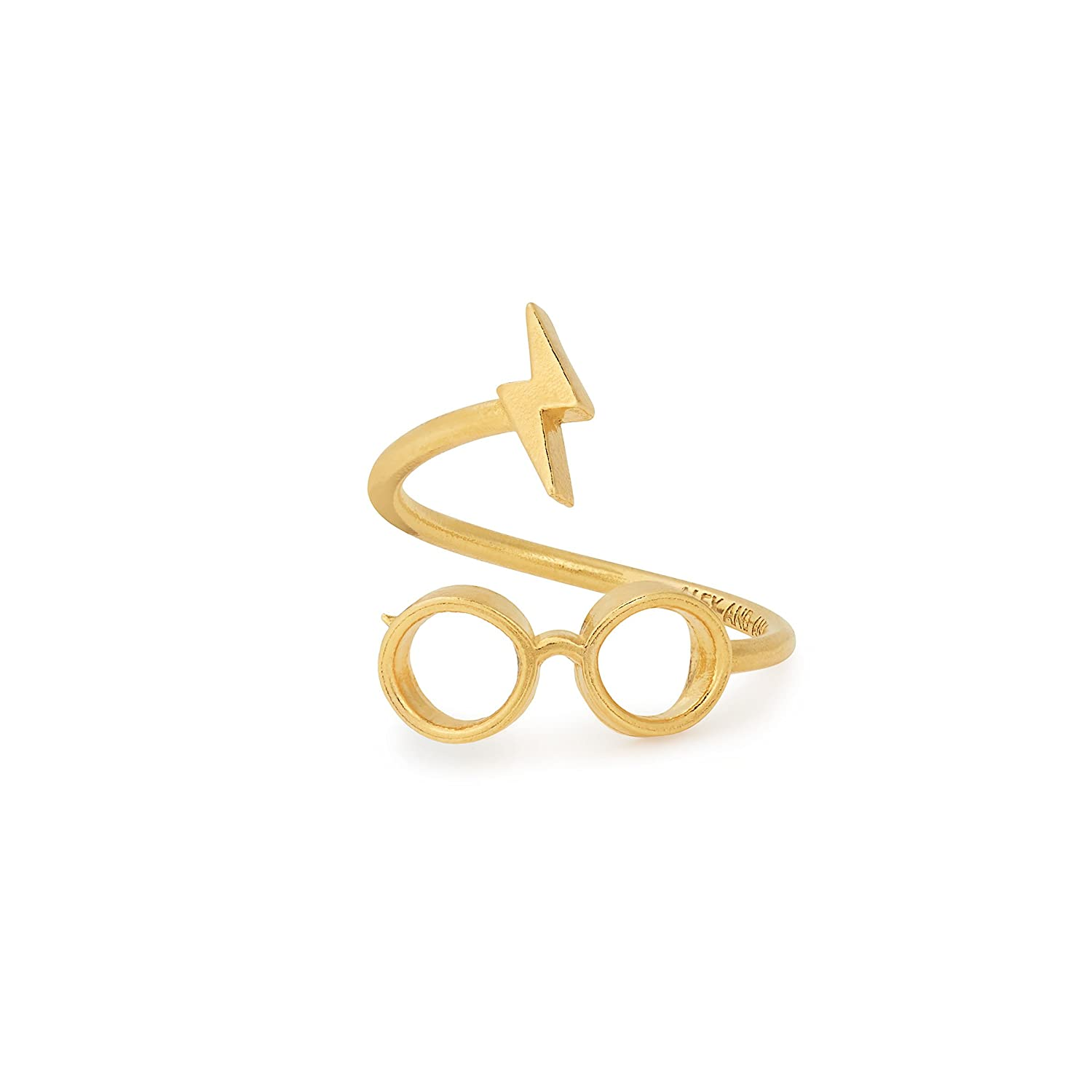 Alex and Ani Womens Harry Potter Glasses Ring Wrap