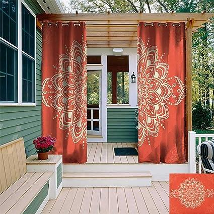 Amazon.com: Henna, kit de cortina para exteriores, diseño ...