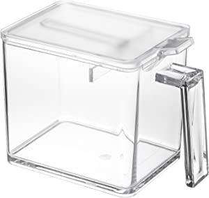 YAMAZAKI home 2869 Tower Spice Container – Food Storage for Kitchen, Large, Clear