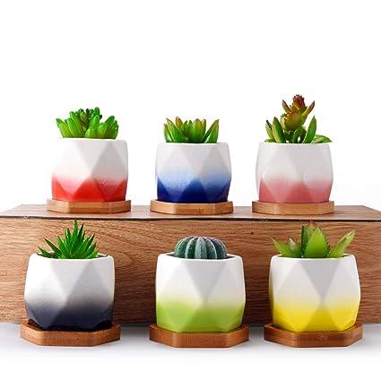 homenote ceramic planter garden pots - Garden Pots