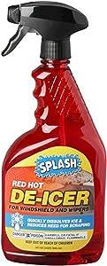 SPLASH Red Hot De-icer Windshield Trigger Spray, 32 Ounces