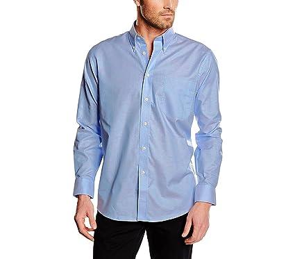 Camisa de algodón para hombre modelo ALEX cuello clásico varios ...