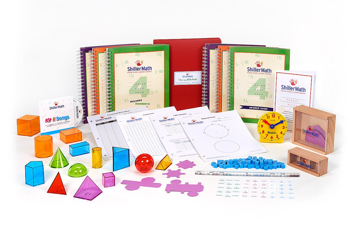 ShillerMath Kit II - Homeschool Montessori Curriculum - (4th Grade to Pre-Algebra)