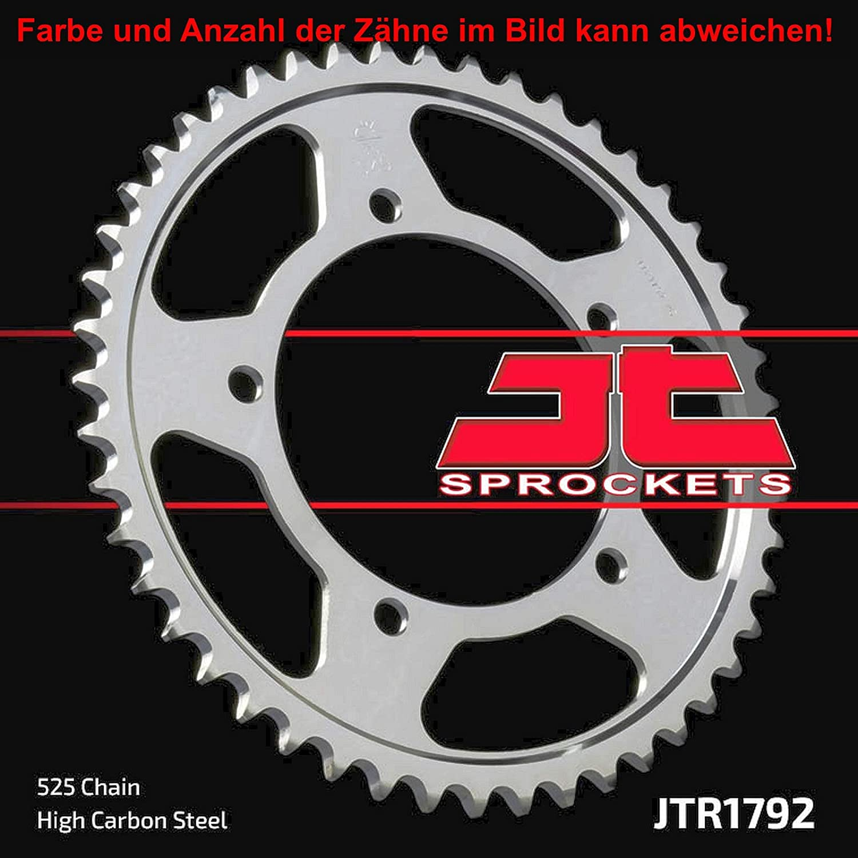 jtSprockets Kettenrad GSX-R 750 X 2005 47 Z/ähne JTR1792-47ZBK