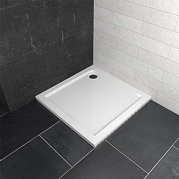 170x80x3cm Duschtasse Duschwanne Kunststein mit Acrylbeschichtung Brausewanne
