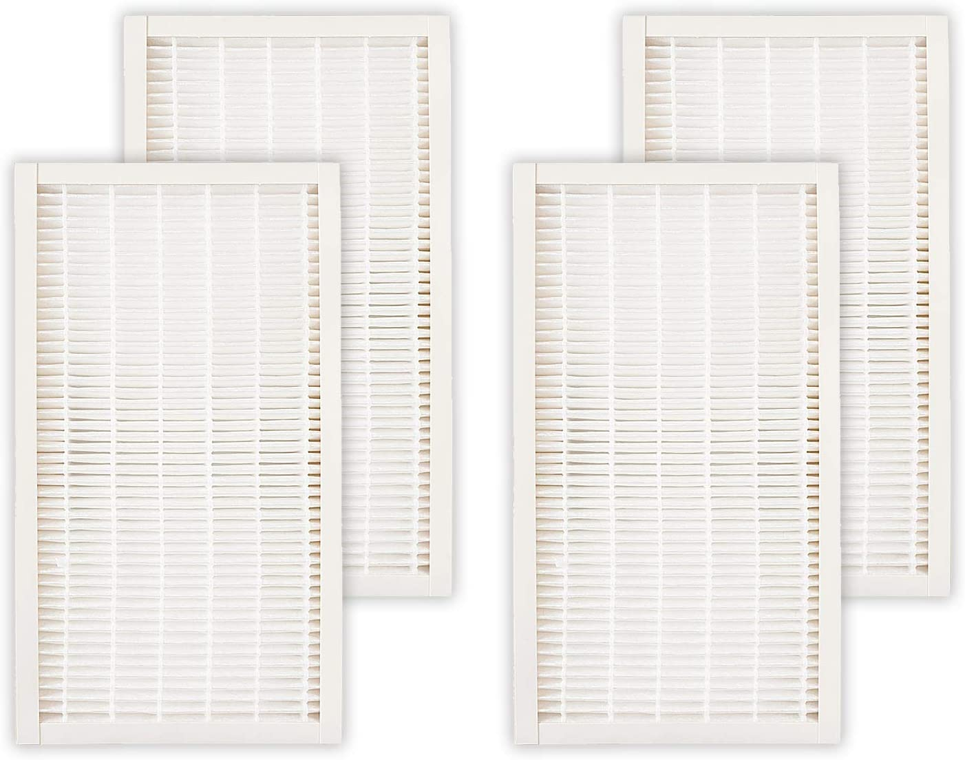 Fette Filter - Allergen Reduction HEPA-Type Room Air Purifier Filter Compatible with Filtrete F1. Compare to Part # FAPF-F1-A F1 for Room Air Purifier Devices FAP-C01-F1 & FAP-T02-F1 4 Pack