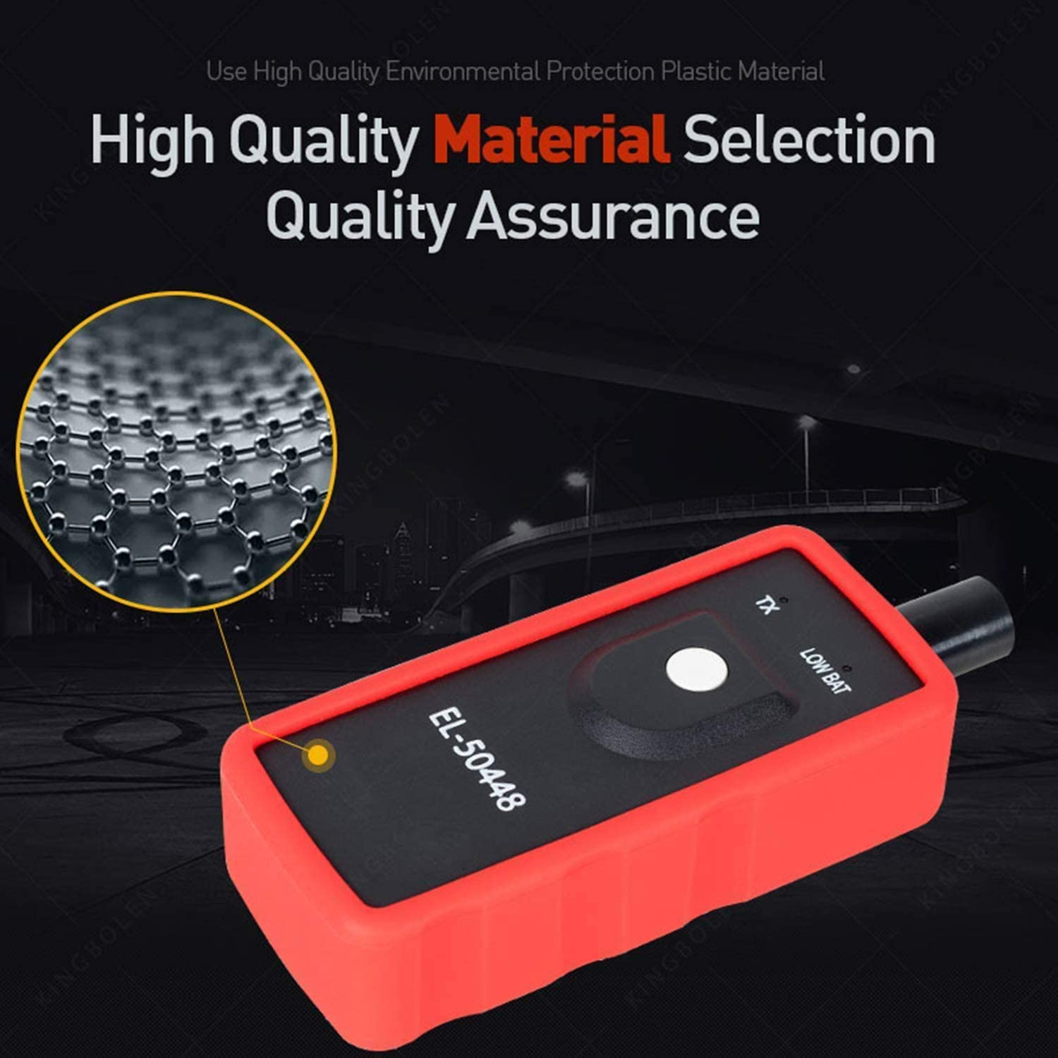 Onewell TPMS Reset Tool EL-50448 Tire Pressure Monitor Sensor Relearn Activation Tool for GM Series Vehicle