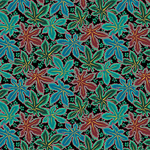 - Free Spirit Fabrics Kaffe Fassett 2018 Collective Green Lacy Leaf