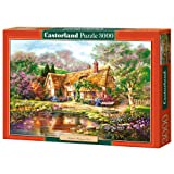 Castorland C-300365-2 - Twilight At Woodgreen Pond, 3000-teilig, Klassische Puzzle