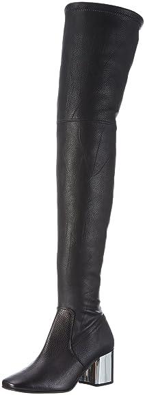Wizard NP, Bottes Hautes Femme - Noir - Noir, 36Carvela
