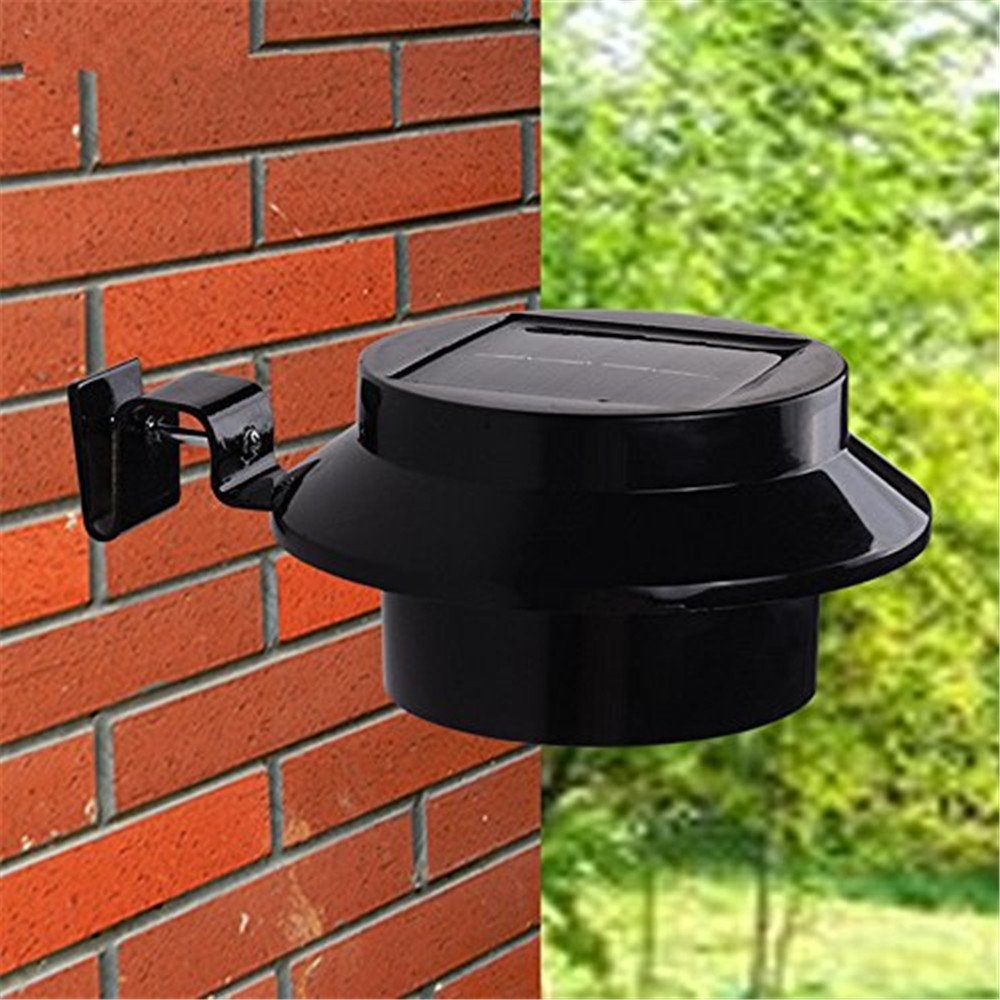 Businda Solar Light Outdoor, Motion Sensor Light IP44 Waterproof for Pathway Decoration Garden Activated Auto On/Off/Black