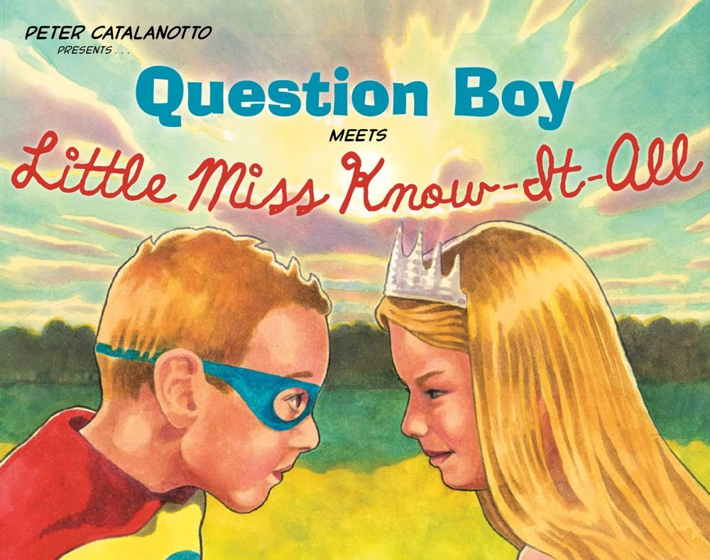 Download Question Boy Meets Little Miss Know-It-All (Richard Jackson Books (Atheneum Hardcover)) ebook