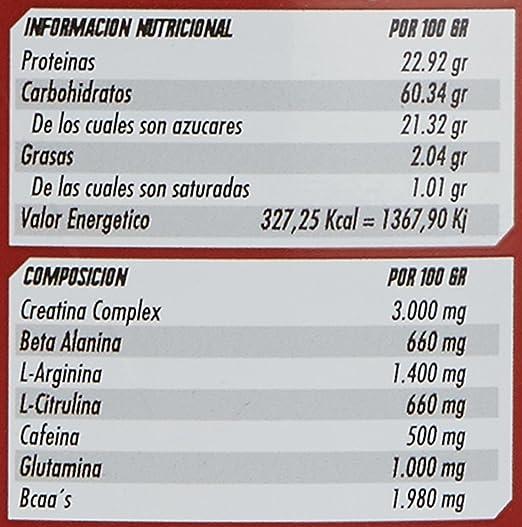 Revtech Mammuth Carbohidratos y Proteína, Sabor a Piña - 3000 gr ...