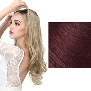 Amazon sarla halo synthetic hairpieces flip in women hair sarla halo synthetic hairpieces flip in women hair extensions natural wave hidden halo hair extensions m01 pmusecretfo Gallery