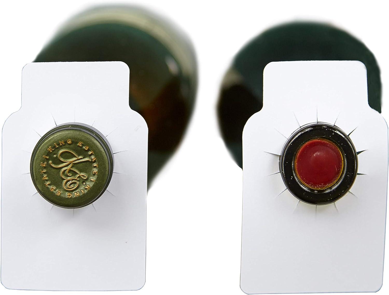 Wine Beverage Bottle Neck Hanging Cards Tags Labels Reserved Table Number Name