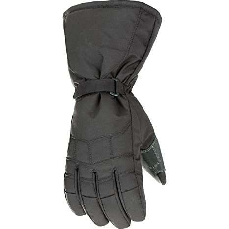 JOE ROCKET SUB ZERO MOTORCYCLE GLOVES MENS BLACK RIDING WIND /& WATERPROOF SHELL