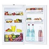 Beko TS 190020 Kühlschrank / A+ / 118 kWh/Jahr / Kühlteil: 88 L / Weiß / Unterbaufähig / Glasablagen / MinFrost-Technologie / Automatische Abtauung / höhenverstellbare Ablagen / Gemüsefach /Temperaturregelung