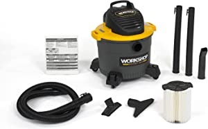 WORKSHOP Wet Dry Vac WS0915VA General Purpose Wet Dry Vacuum Cleaner, 9-Gallon Shop Vacuum Cleaner, 4.25 Peak HP Wet And Dry Vacuum