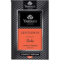 Yardley Gentleman Duke Compact Perfume, pocket friendly, masculine fragrance, smooth and refreshing, 18ml