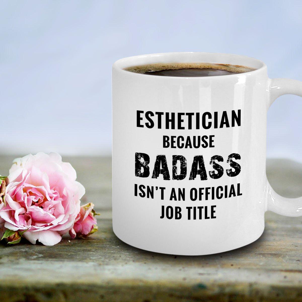 Amazon.com: Esthetician Gifts - Funny Badass Esthetician Beautician ...