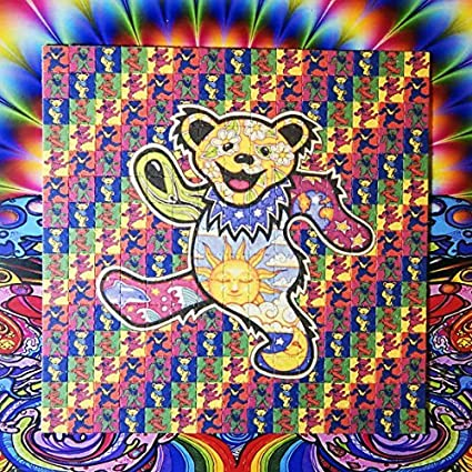 amazon com psychedelic blotter art print perforated sheet paper