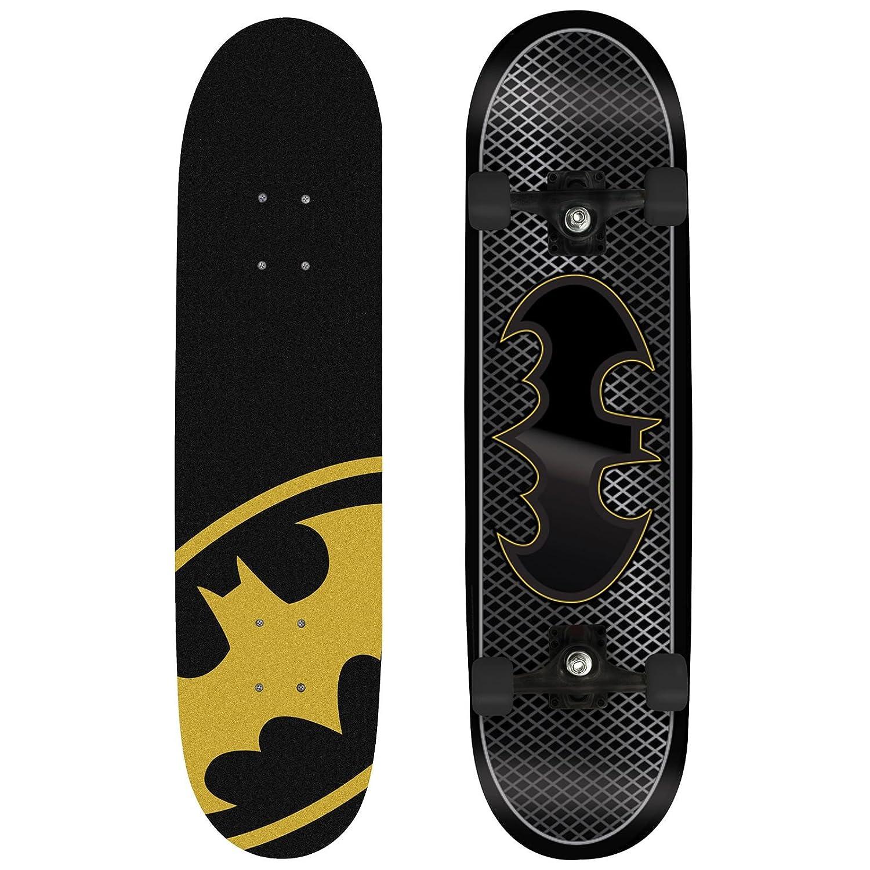 eMarkooz Skateboard / Longboard fü r Kinder, Anfä nger und Fortgeschrittene Batman M02211