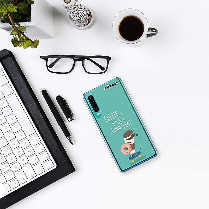 dakanna Funda para Huawei P30 | Comida Café y Donut en ...