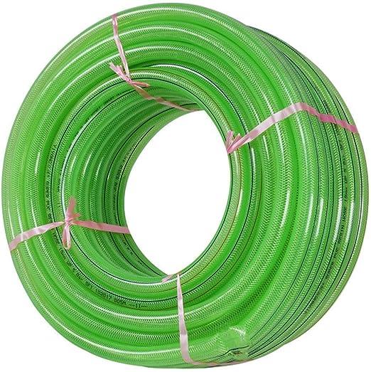 GONGFF Manguera de jardín Manguera de Agua doméstica Resistente al Desgaste de PVC de Alta presión de 10/13 mm (Color: 13 mm, tamaño: 50 m (164 pies)): Amazon.es: Hogar