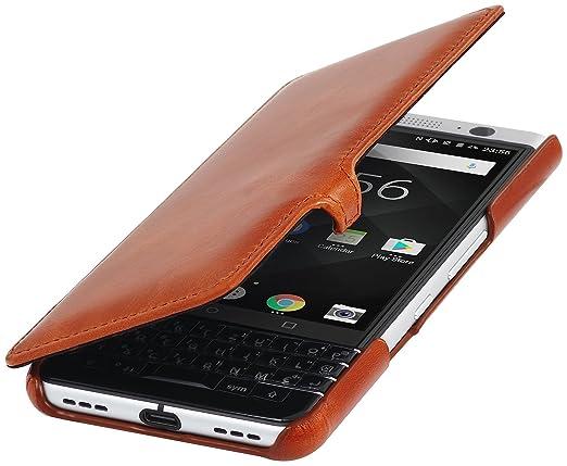 2 opinioni per StilGut Book Type Case, custodia a libro booklet in vera pelle per BlackBerry